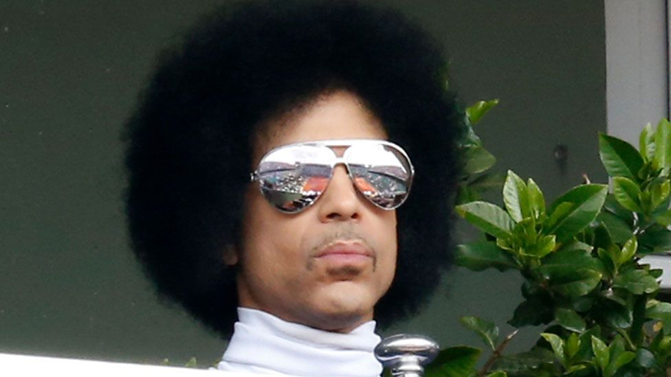 Prince in 2014