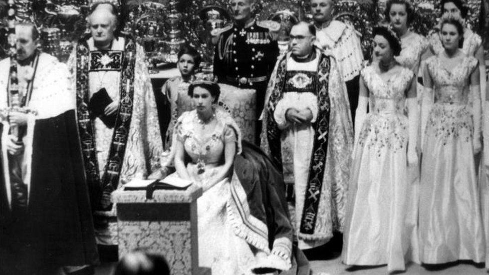 Coronation service 1953