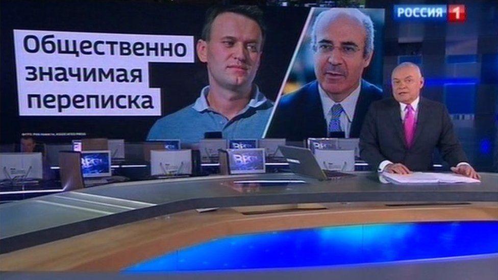 Screen grab from Rossiya 1