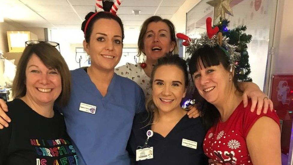 William Harvey Hospital midwives