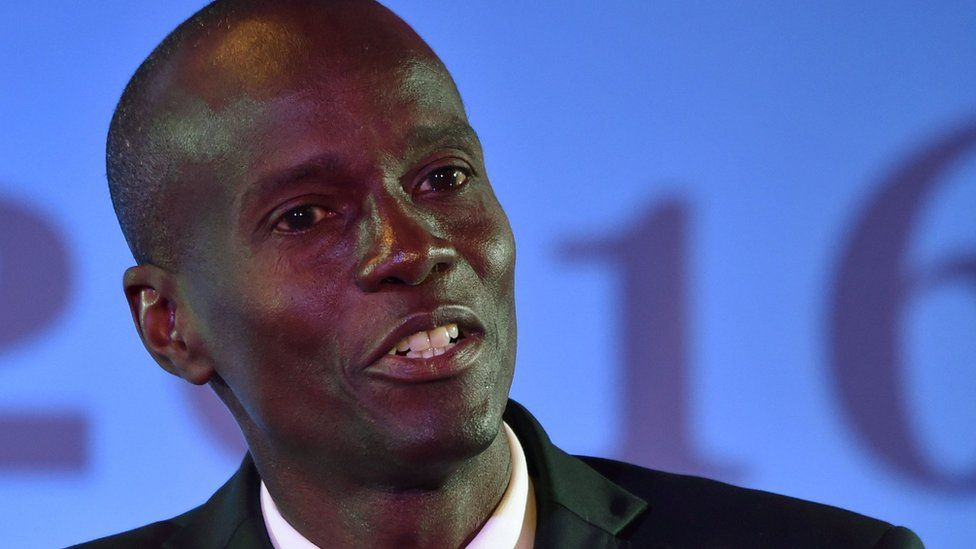 Presidential candidate Jovenel Moise in Port-au-Prince, on September 20, 2016