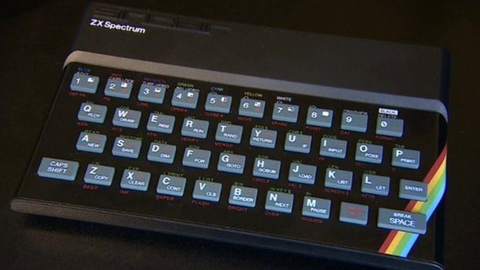 Spectrum keyboard