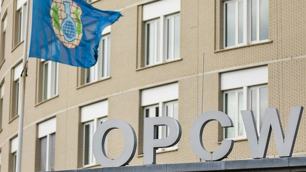 Headquarters of the Organisation for the Prohibition of Chemical Weapons (OPCW) in The Hague