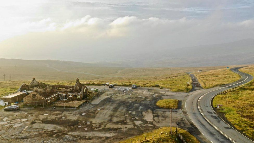 'Mecca for petrol-heads' plan for fire-hit Hartside Cafe