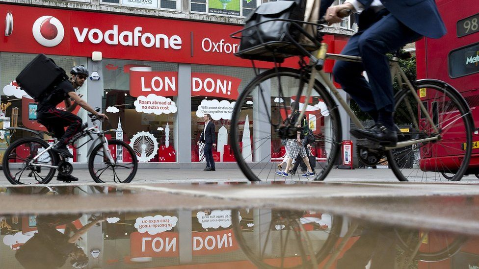 Vodafone store London