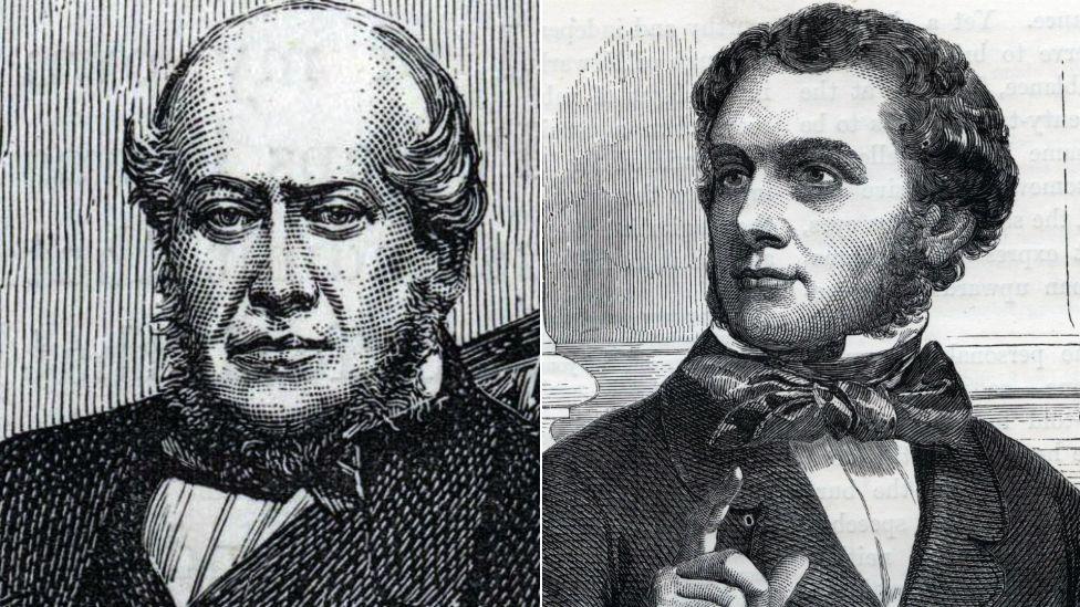 Sir John Gladstone and William Gladstone