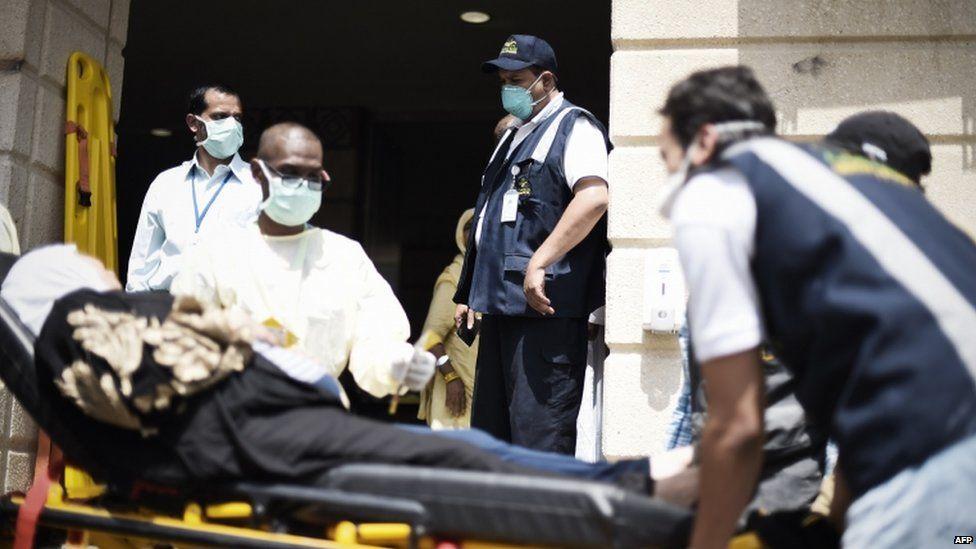 Injured pilgrim at Mina, 24 Sept