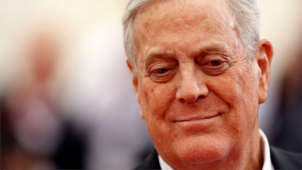 David Koch: muere el controvertido multimillonario estadounidense, uno de los principales donantes de Trump y movimientos conservadores