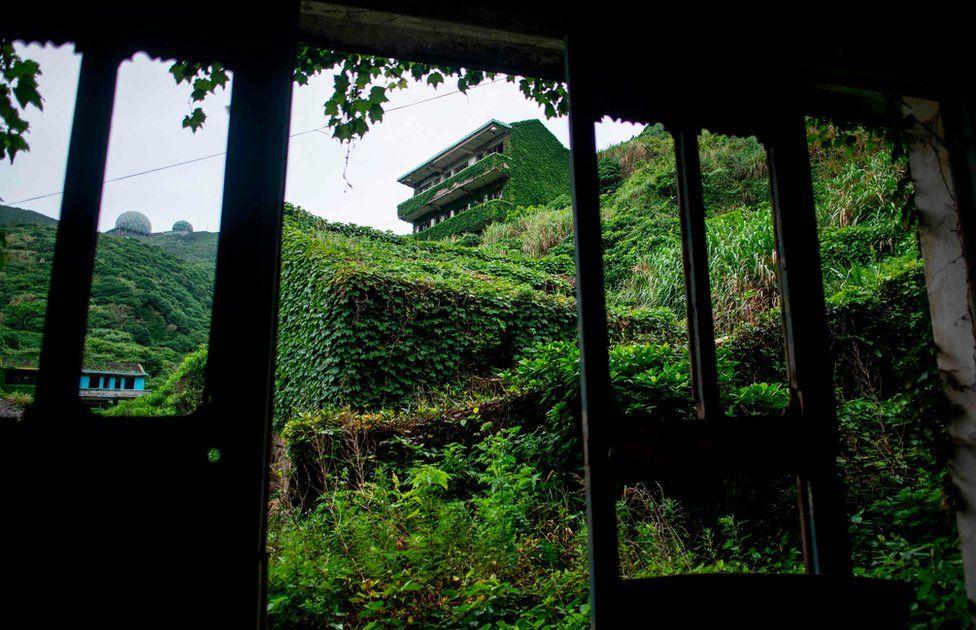 Chinese village reclaimed by nature _101938466_1ec3edb7-fc64-42d5-87bf-257f3464b148