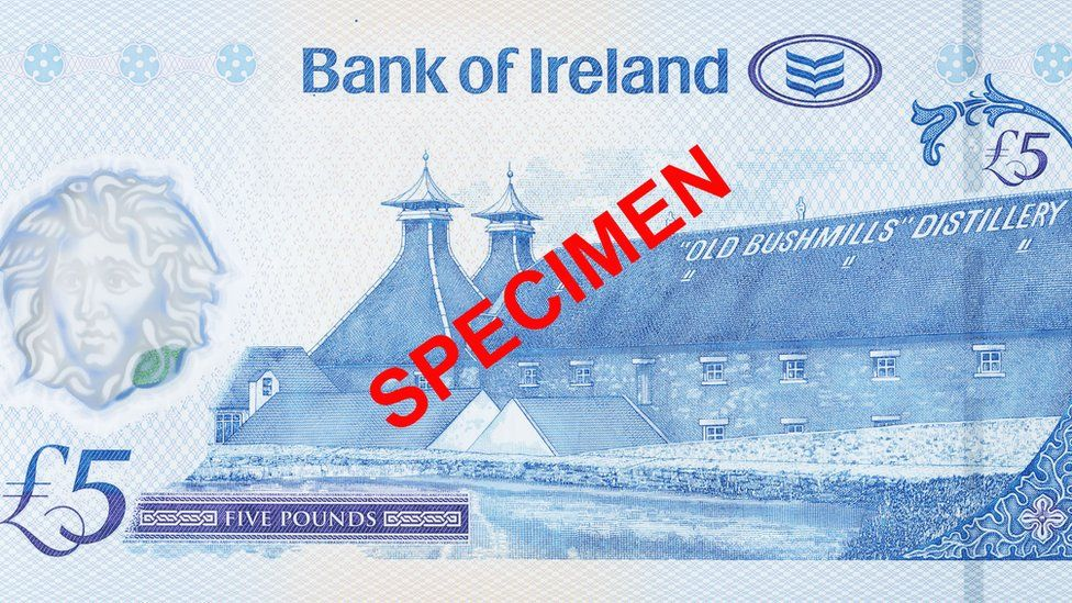 bank of ireland note