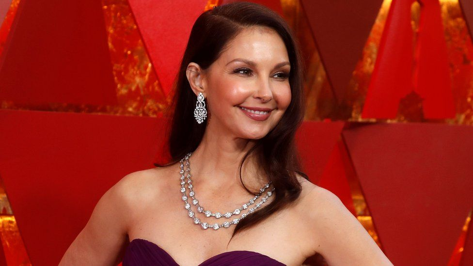 Ashley Judd attends the 90th Academy Awards in Hollywood, California, 3 April 2018