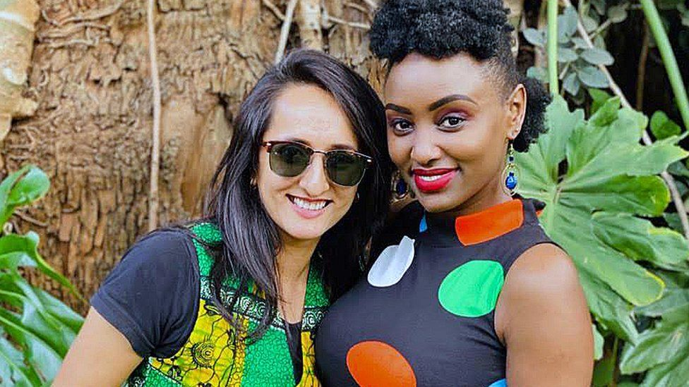 Michelle Ntalami and Niyati Patel