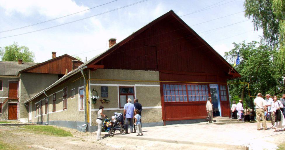 Будинок у Княгиничах, де було конспіративне житло Романа Шухевича у 1946-1947 роках