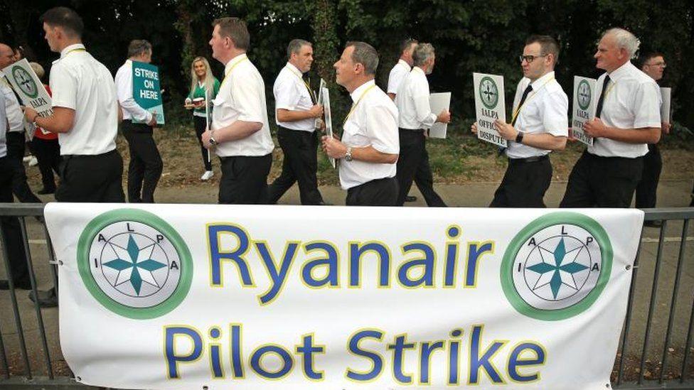 Ryanair pilot strike