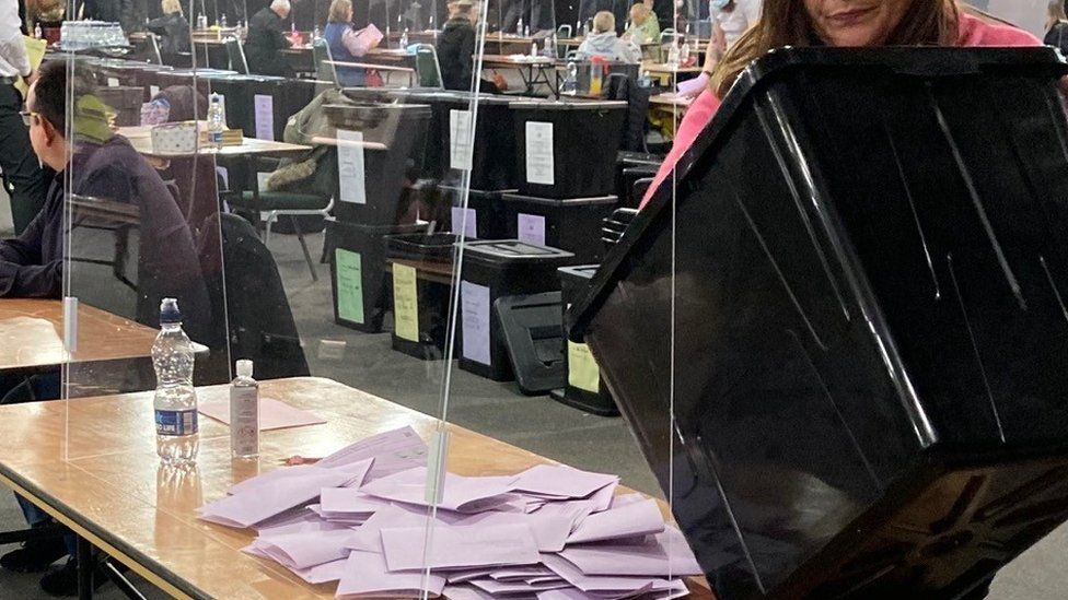 Counting under way in Doncaster