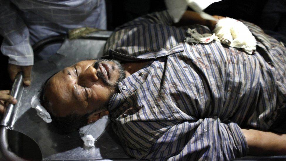 Ranadeep Basu after treatment at Dhaka Medical Hospital - 31 October