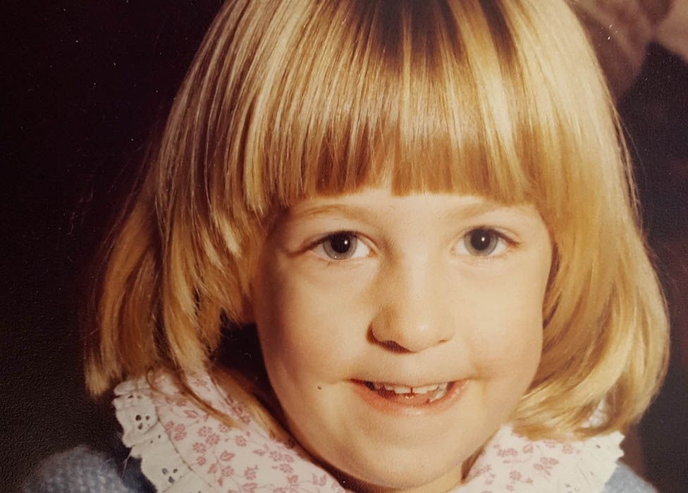 Charlotte Nokes as a child