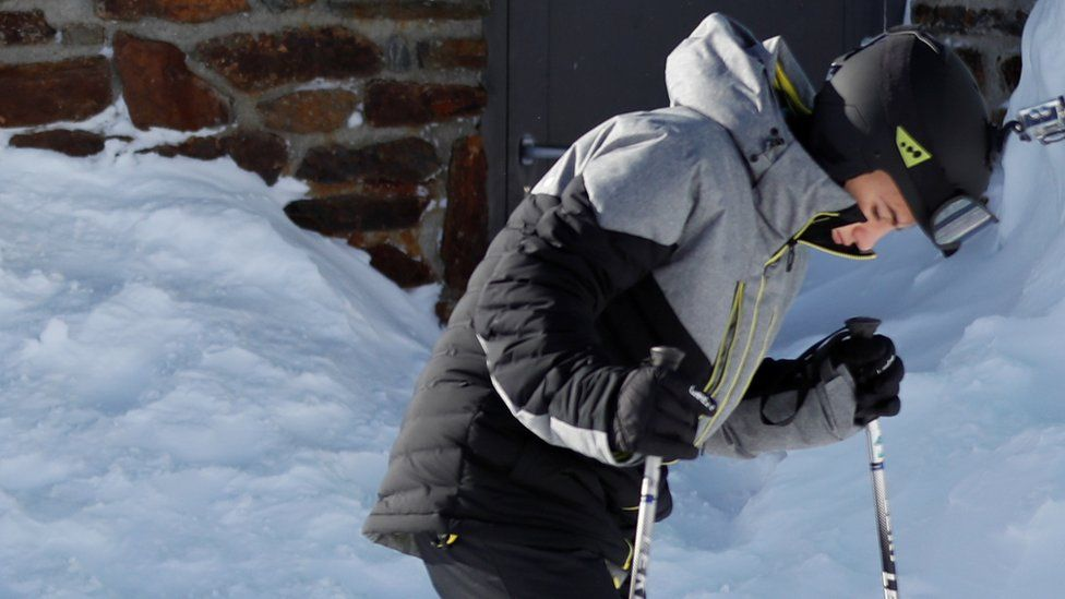 Italian skier