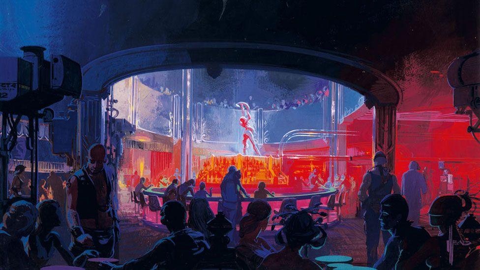 The Snake Pit nightclub in Blade Runner