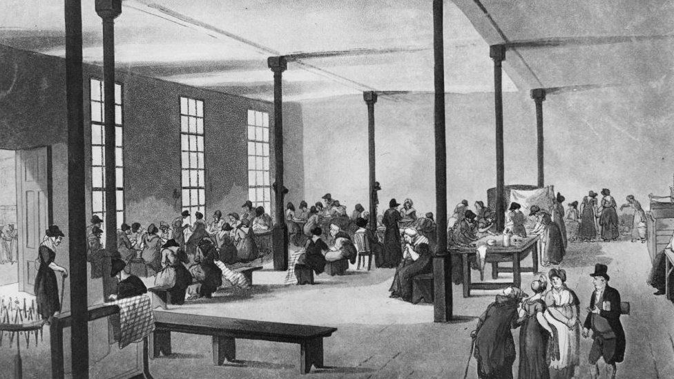 A Victorian workhouse