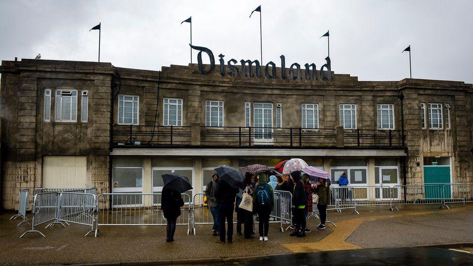 Banksy's Dismaland theme park at Weston-super-Mare