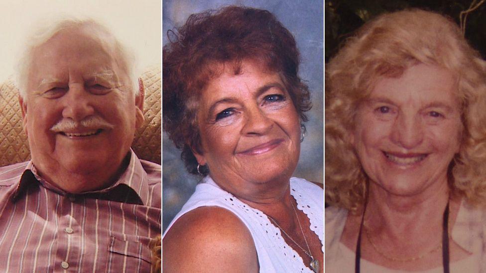 Douglas, Arlene and Margaret