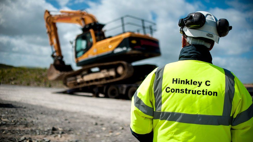 Hinkley Point pre-construction worker