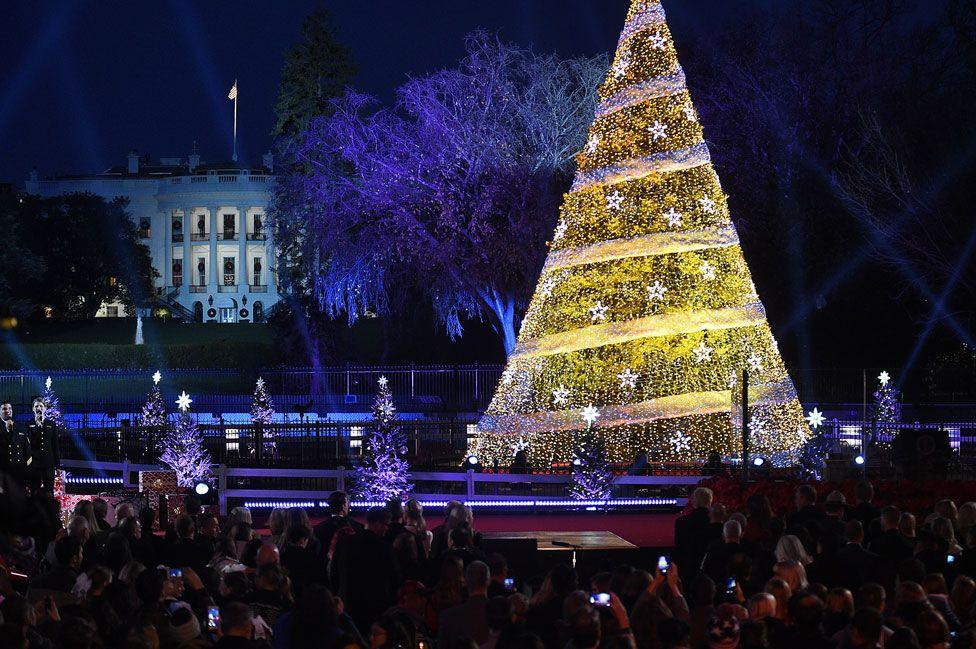 The National Christmas Tree Lighting Ceremony