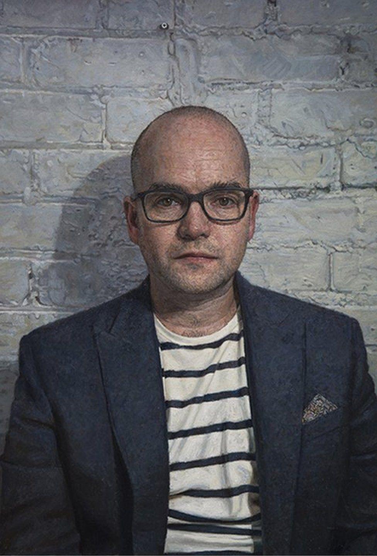 A self portrait of Mark Roscoe