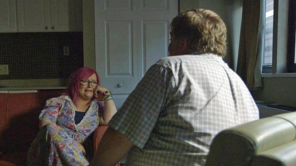 Emily Yates meeting Gray
