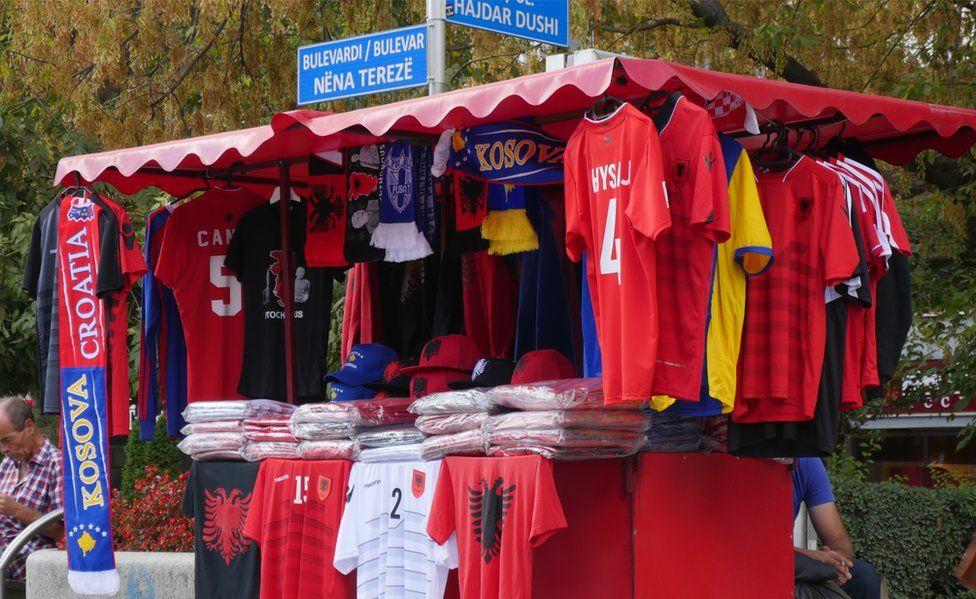 Albania football shirts on sale