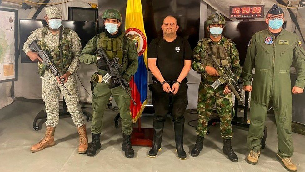 Colombia's most wanted drug lord Otoniel captured thumbnail