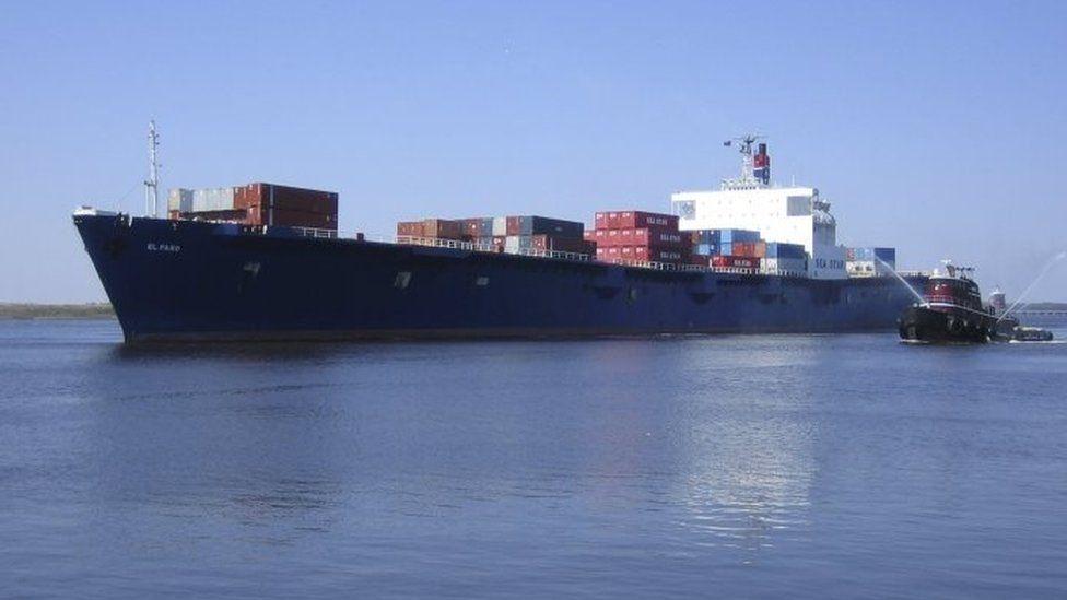 El Faro cargo ship. File photo