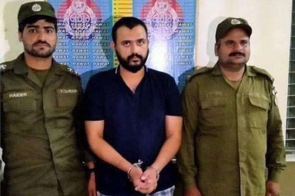 Hasan Siddique in police custody