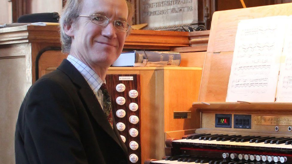Christopher Nickol is also the director of music at New Kilpatrick Parish Church in Bearsden