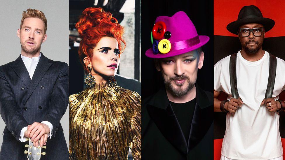 Voice coaches 2016: Ricky Wilson, Paloma Faith, Boy George, Will.i.am