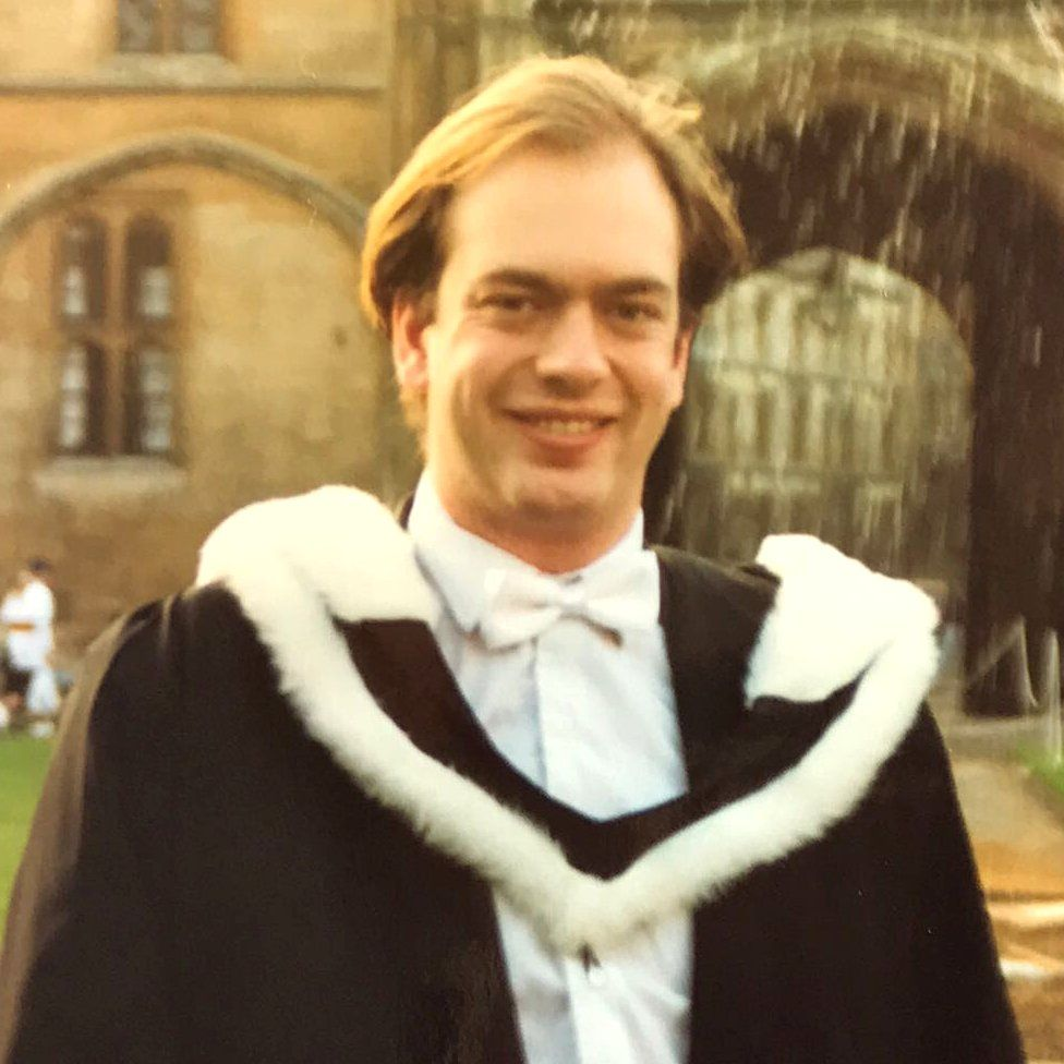 Mark Reckless graduates from Oxford University