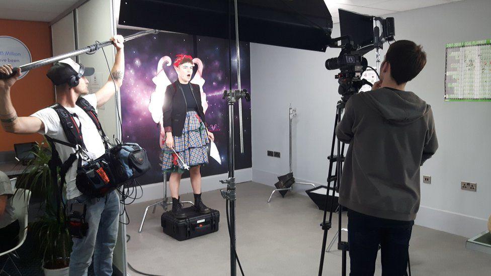 Screen Northants filming