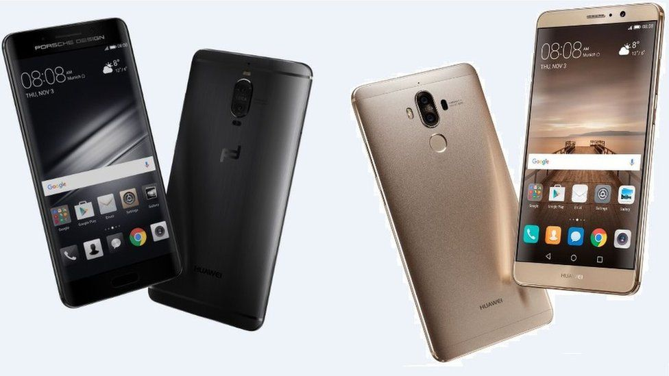 Huawei Mate 9 phones