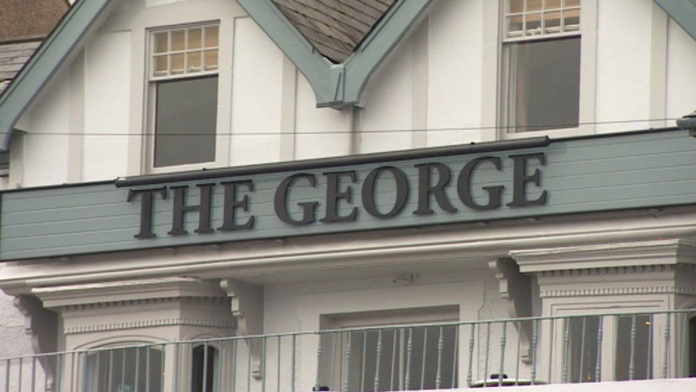 The George pub in Mumbles