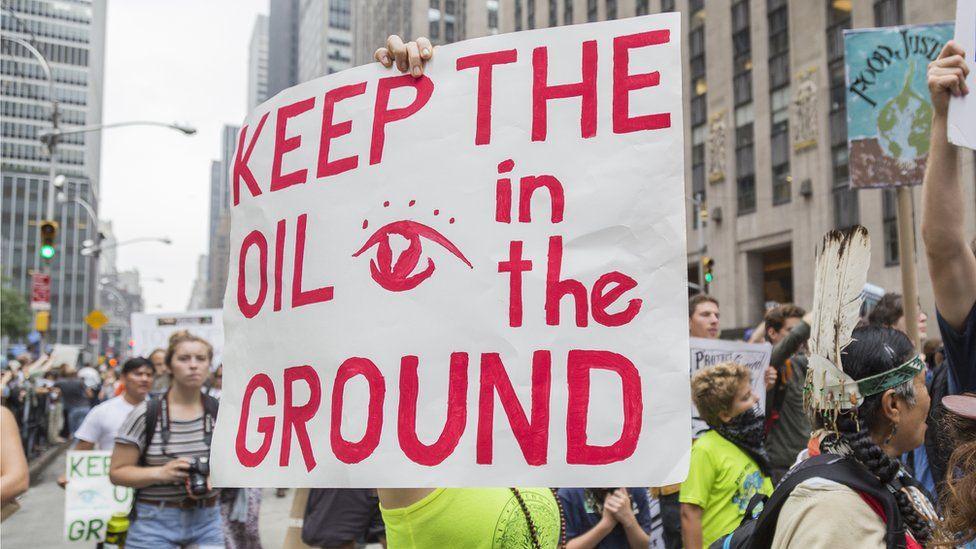 oil protestors