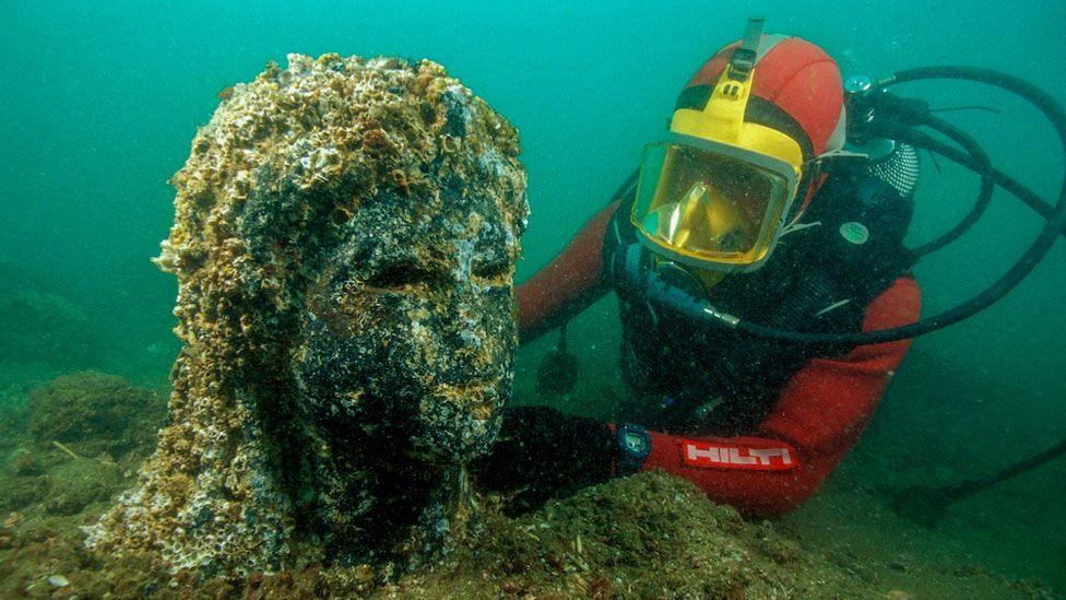 Heracleion: la asombrosa historia de una grandiosa ciudad del antiguo Egipto que se hundió en el mar