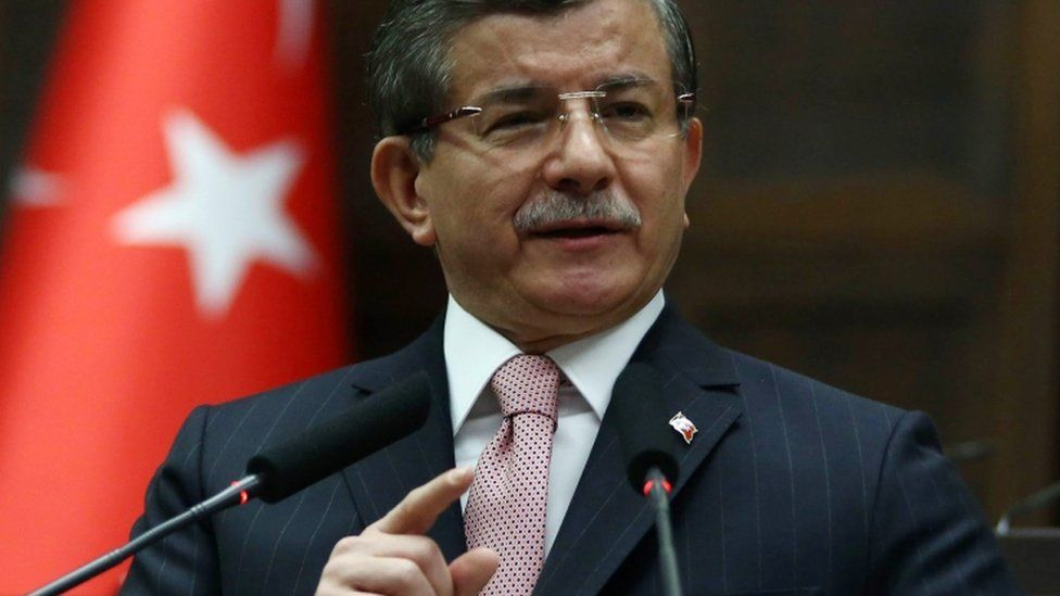 Ahmet Davutoglu, 26 April