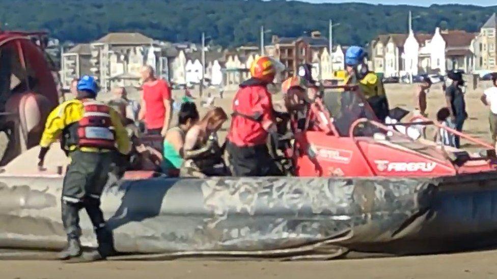 Weston rescue on Saturday