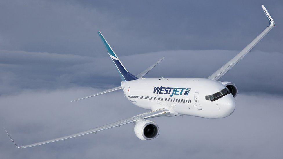 WestJet Boeing 737-800 (publicity photo)