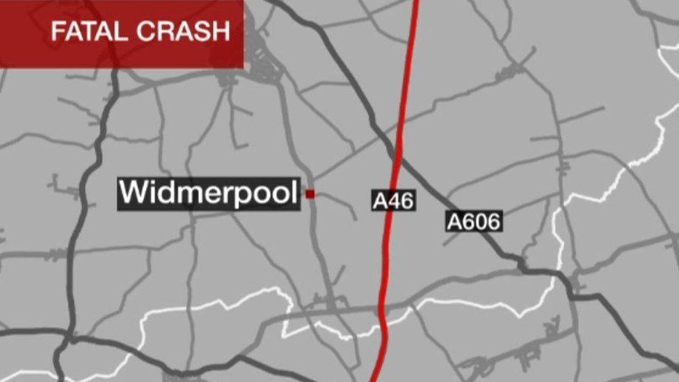 BBC graphic of the crash area