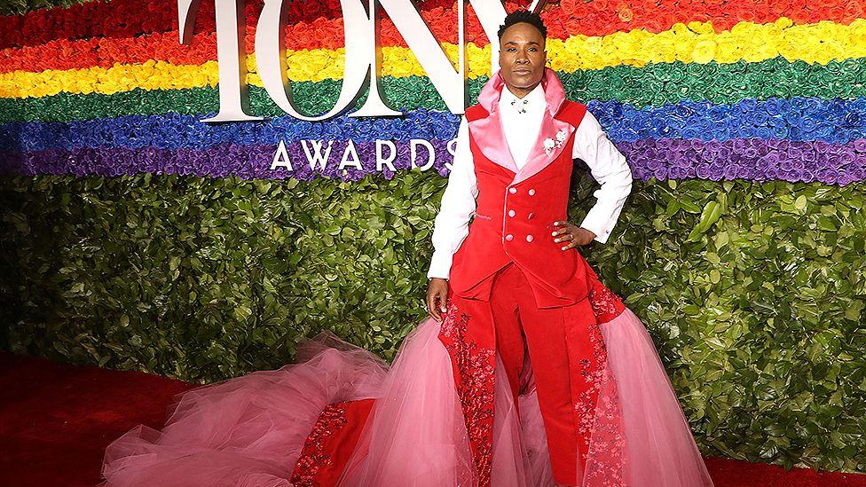 Billy Porter at the Tony Awards