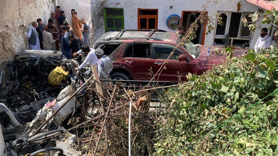 US admits Kabul drone strike killed civilians thumbnail