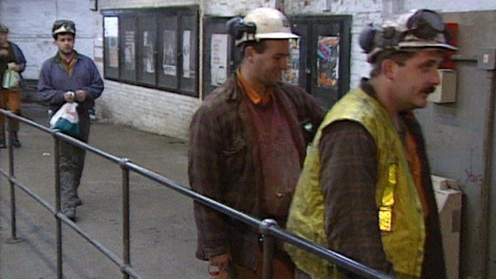 Miners, BBC Look North 1996