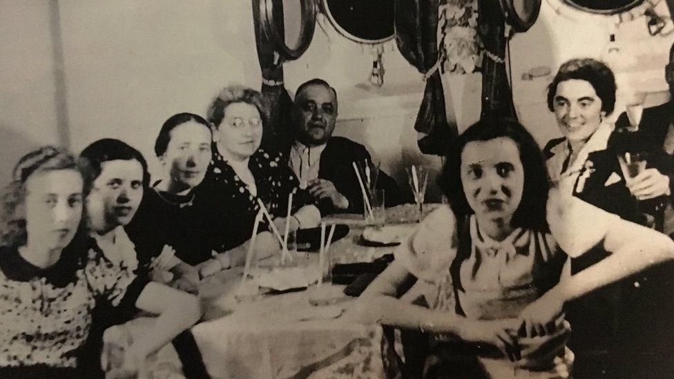 Sternberg family on SS St Louis